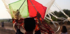 Flying Paper in the Gaza Strip.